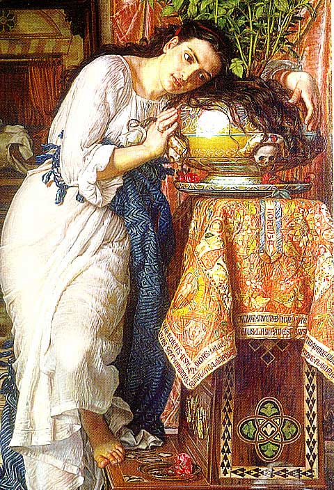 W. Hollman-Isabella and The pot of Basil