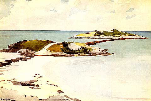 Winslow Homer-Gallows Island