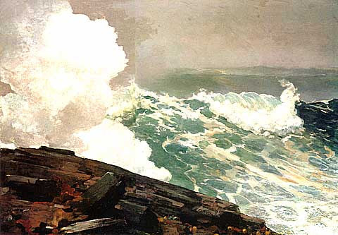 Winslow Homer-Northeaster