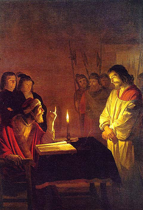 G. Von Honthorst-Christ Before Caiaphas