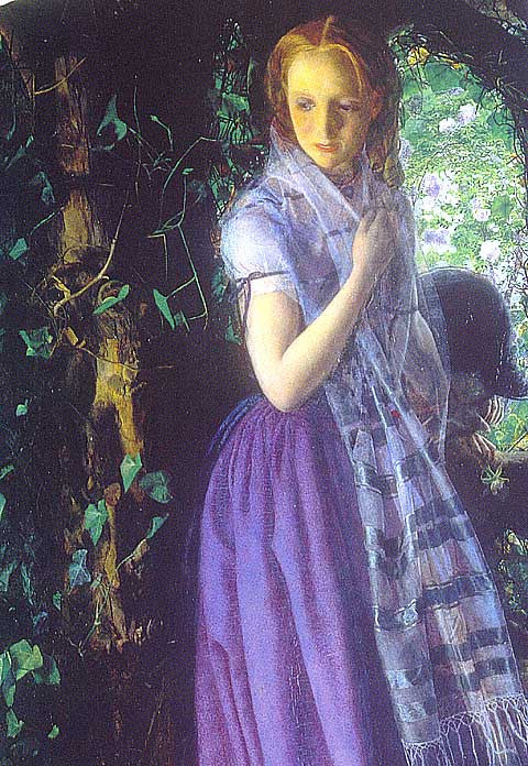 Edward Robert Hughes-April Love