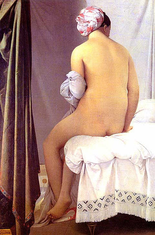 Dominique Ingres-The Bather Of Valpincon