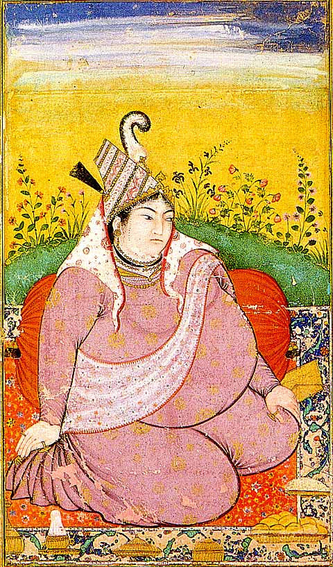 Unknown Artist-Portrait Of A Thaghatay Woman
