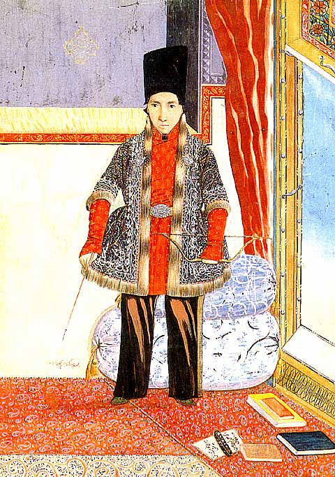 Unknown Artist-Portrait Of Prince Sultan Husayn Mirza Jalal Al-Dawla