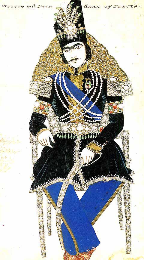 Unknown Artist-Portrait Of Nasir al-Din Shah