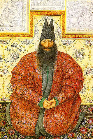 Unknown Artist-Portrait Of Muhammad Yasir Khan Aqasibashi