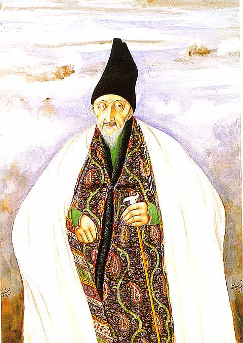 Unknown Artist-Portrait Of Hajji Mirza Akasy