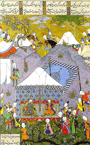 Unknown Artist-Salm And Tur Receive the reply of Faridun and Manuchihr