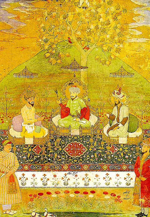 Unknown Artist-Timur, Babur And Humayun