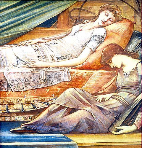 Burne Jones-The Sleeping Beauty
