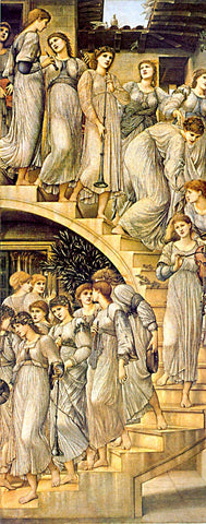 Burne Jones-Golden Stairs