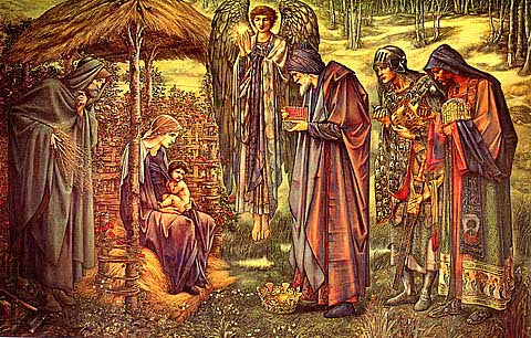 Burne Jones-The Star Of Bethlehem