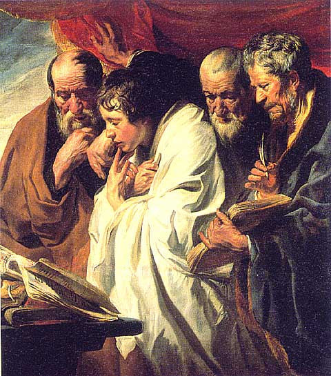 Jacob Jordaens-The Four Evangelists