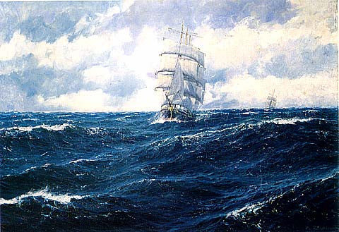 P. Von Kalckreuth-On The Atlantic