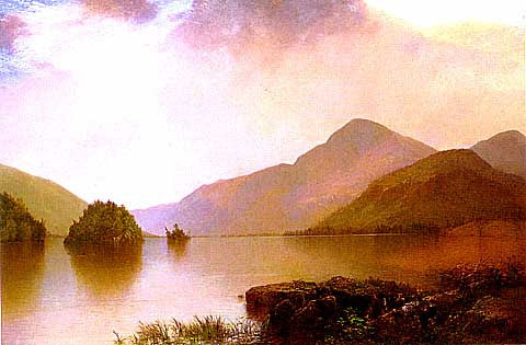 John Frederick Kensett-Lake George View
