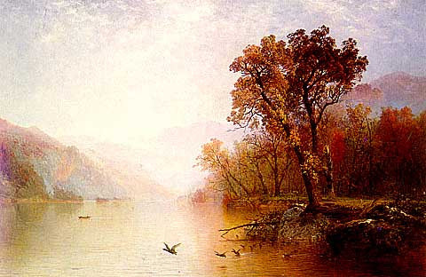 John Frederick Kensett-Lake George View North