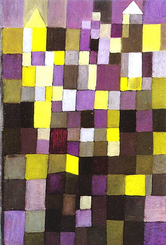 Paul Klee-Architecture