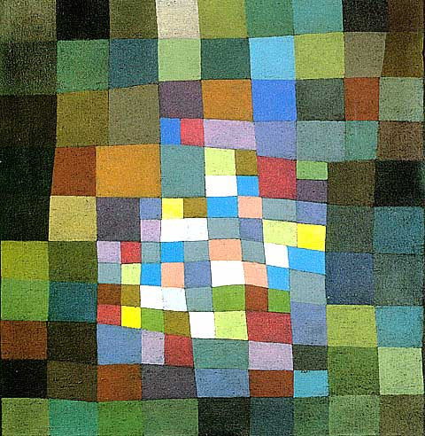 Paul Klee-Blossoming