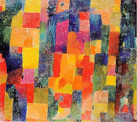 Paul Klee-Cubist Composition