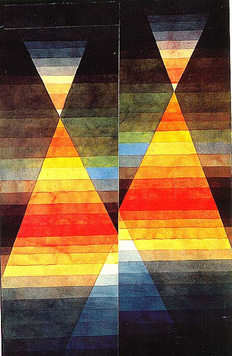 Paul Klee-Double Tent