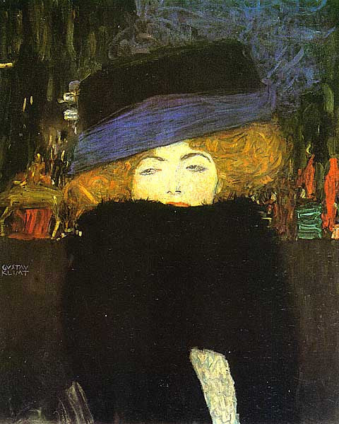 Gustav Klimt-Lady With Hat