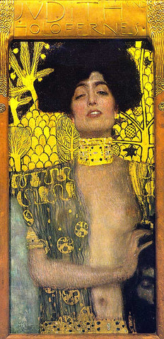 Gustav Klimt-Judith and Holopherne