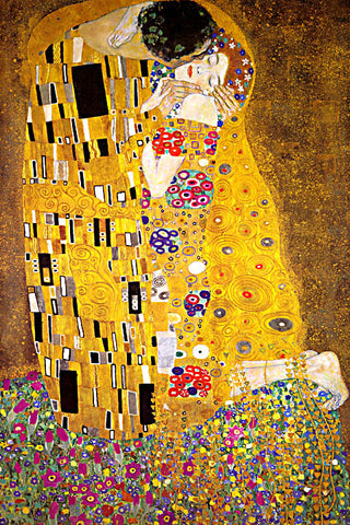Gustav Klimt-The Kiss