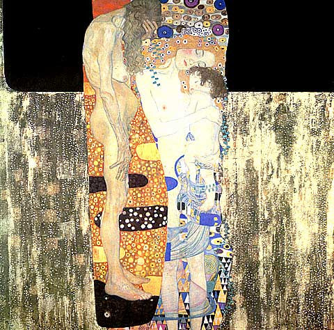 Gustav Klimt-The Three Ages Of Woman