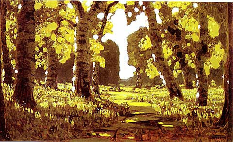 I. Kuindzhi-Birch grove