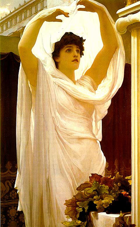 Frederic Lord Leighton-Invocation