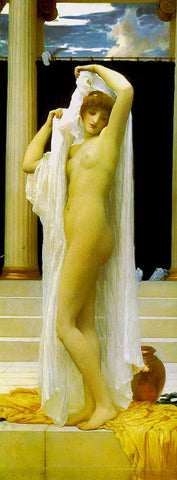Frederic Lord Leighton-The Bath Of Psyche