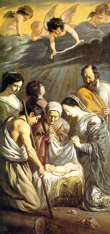 Le Nain-The Adoration Of The Shepherds