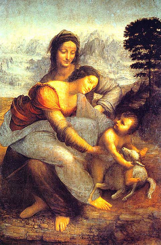 Leonardo Da Vinci-Madonna and Child