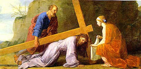 Le Sueur-Jesus Carrying The Cross