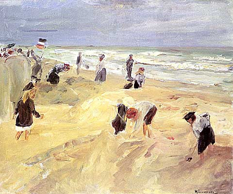 Libermann-Beach Scene