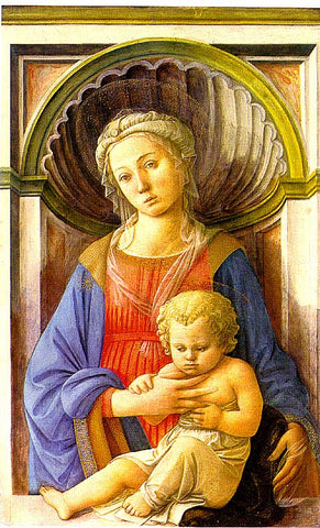 Fra Filippo Lippi-Madonna And Child
