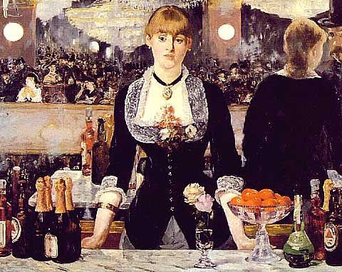 Edouard Manet-Bar at the Folies-Bergeres
