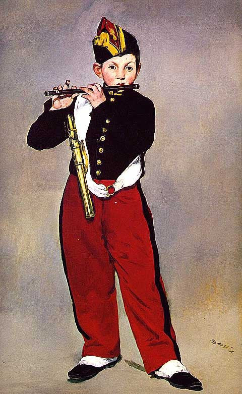 Edouard Manet-The Fifer