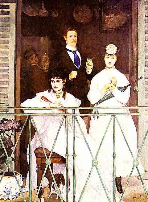 Edouard Manet-The Balcony