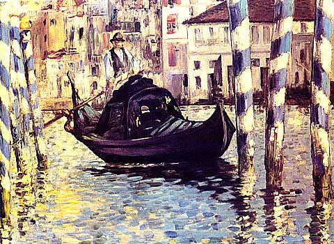 Edouard Manet-Venice The Grand  Canal
