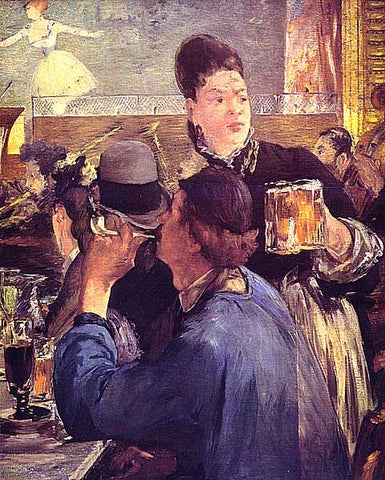 Edouard Manet-The Beer Waitress