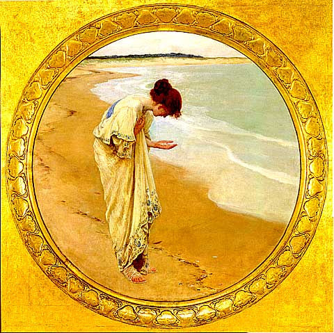 Margetson-The Sea Hath Its Pearls