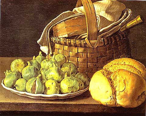 Melendez-Still Life With Basket