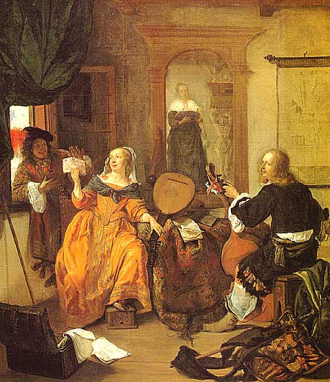 Gabriel Metsu-The Music Party