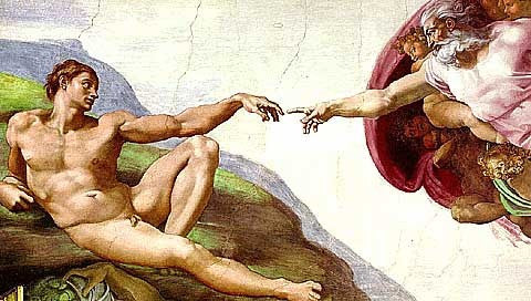 Michelangelo-The Creation of Adam