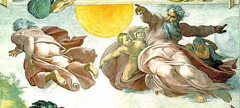 Michelangelo-The creation of the planets
