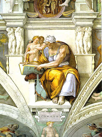 Michelangelo- The Cumaean Sibyl