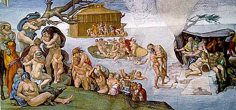 Michelangelo-The Flood