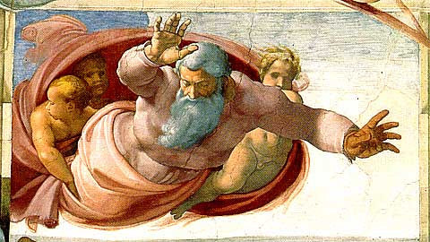 Michelangelo-The Separation Of Sky And Water