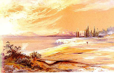 Thomas Moran-Hotsprings Yellowstone